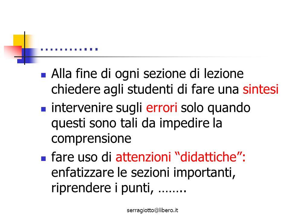 serragiotto@libero.it Problematica della valutazione Che cosa valutare.