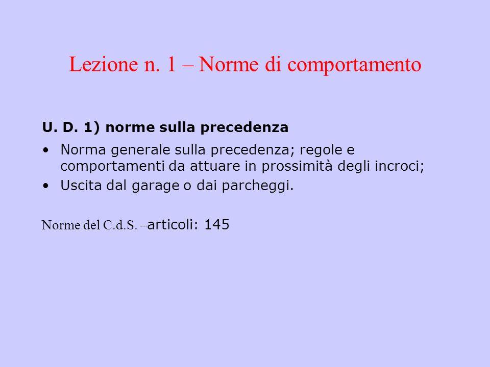 Art.145 C.d.s.