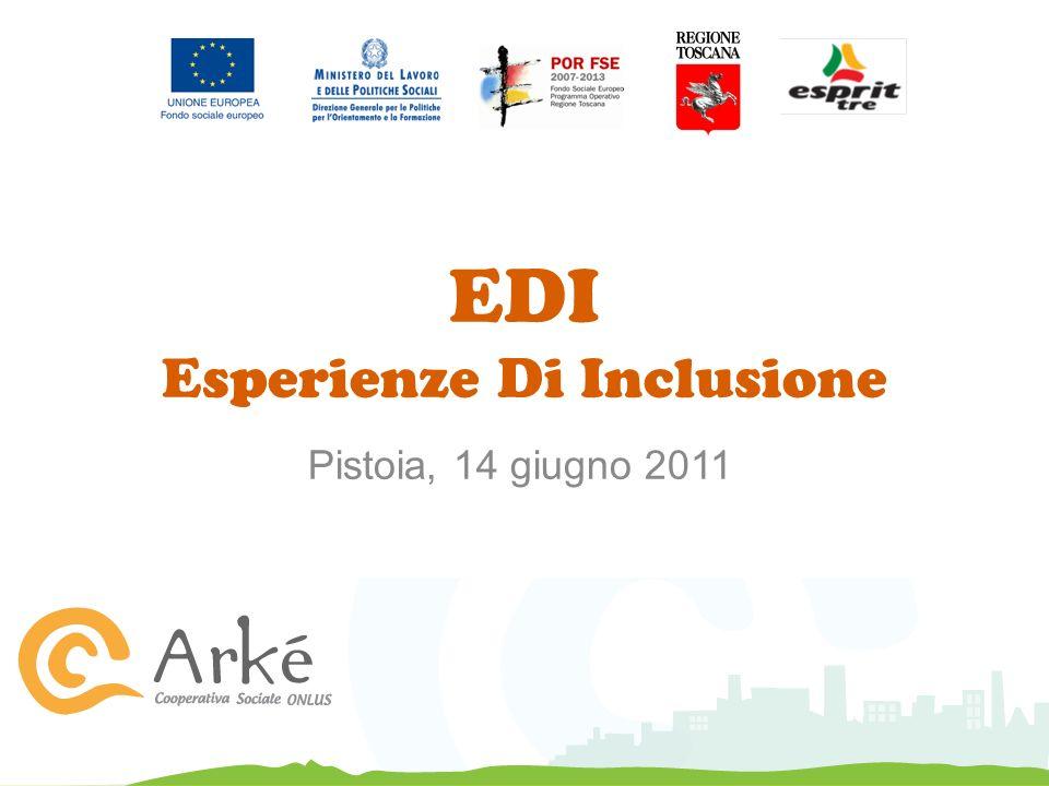 EDI Esperienze Di Inclusione Pistoia, 14 giugno 2011
