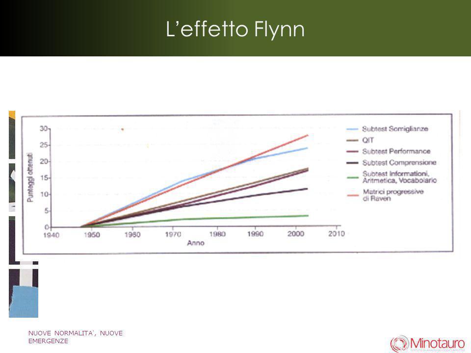 NUOVE NORMALITA, NUOVE EMERGENZE Leffetto Flynn