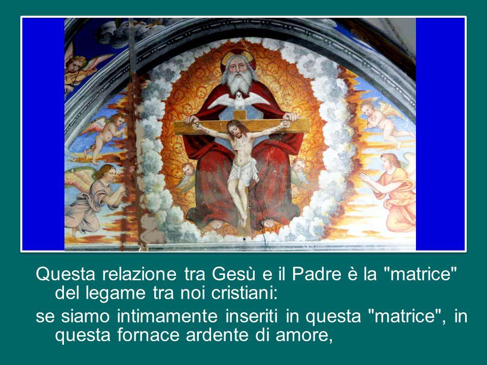 La Chiesa, nella sua verità più profonda, è comunione con Dio, familiarità con Dio, comunione di amore con Cristo e con il Padre nello Spirito Santo,
