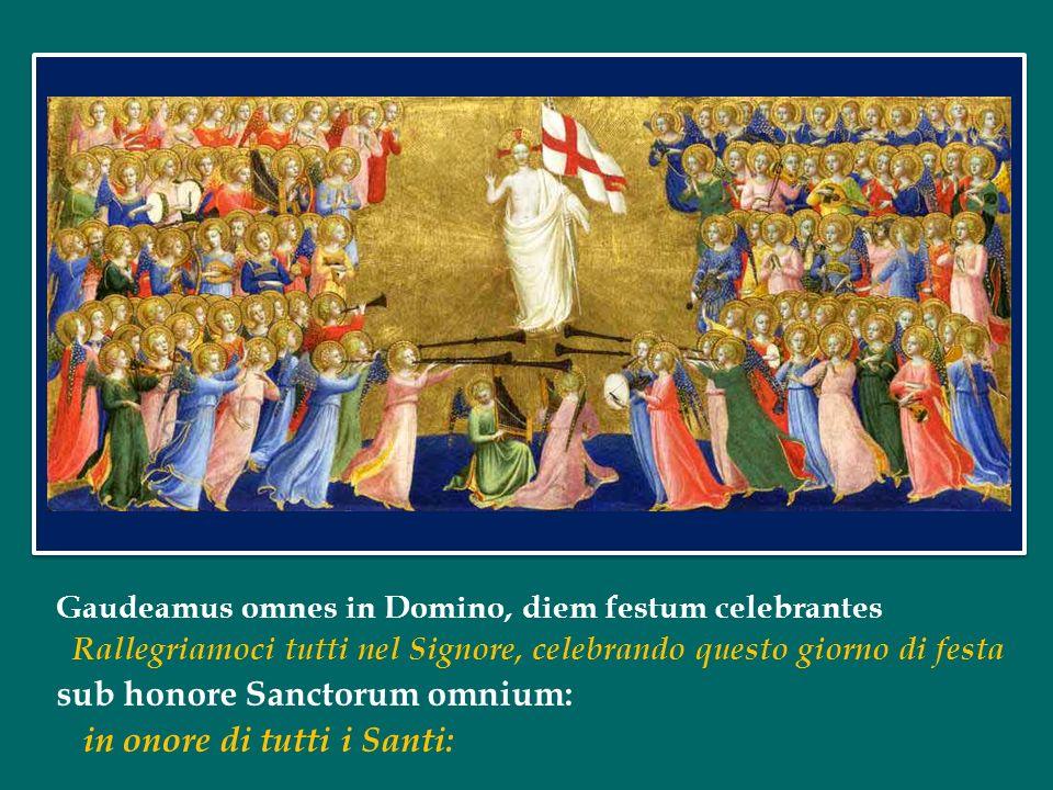 Il Catechismo della Chiesa Cattolica ci ricorda che con questa espressione si intendono due realtà: la comunione alle cose sante e la comunione tra le persone sante (n.