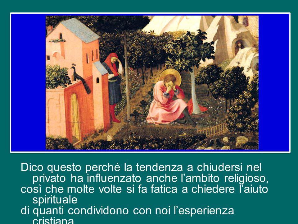 Questo è il secondo aspetto della comunione dei santi che vorrei sottolineare: la nostra fede ha bisogno del sostegno degli altri, specialmente nei mo