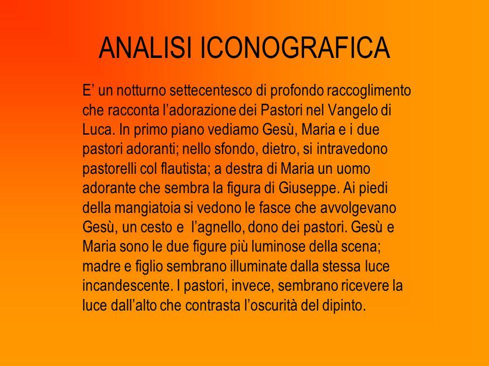 ICONOLOGIA (SIGNIFICATO) Il volto di Maria esprime dolcezza e insieme severità perché sembra intuire il Mistero