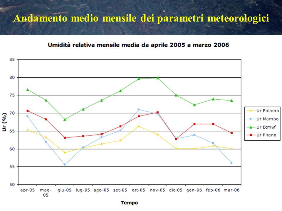 CONCLUSIONI il modello dellECMWF calcola dei valori attendibili delle variabili meteorologiche, molto vicini a quelli di tre stazioni fisse di misura, soprattutto a quella di Pirano.