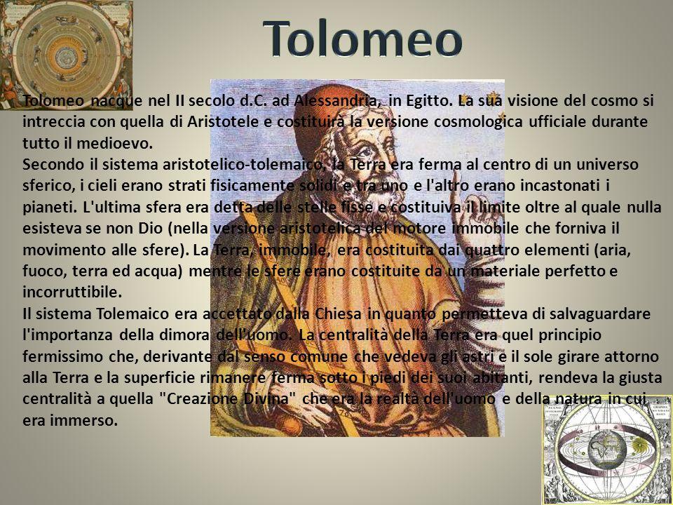 Niccolò Copernico nacque a Torun in Polonia nel 1473.Studiò medicina diritto e astronomia.