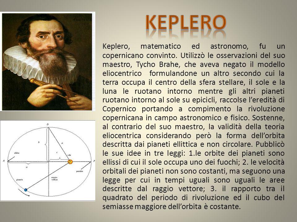 Galileo nacque a Pisa e fu un importante matematico ed astronomo.