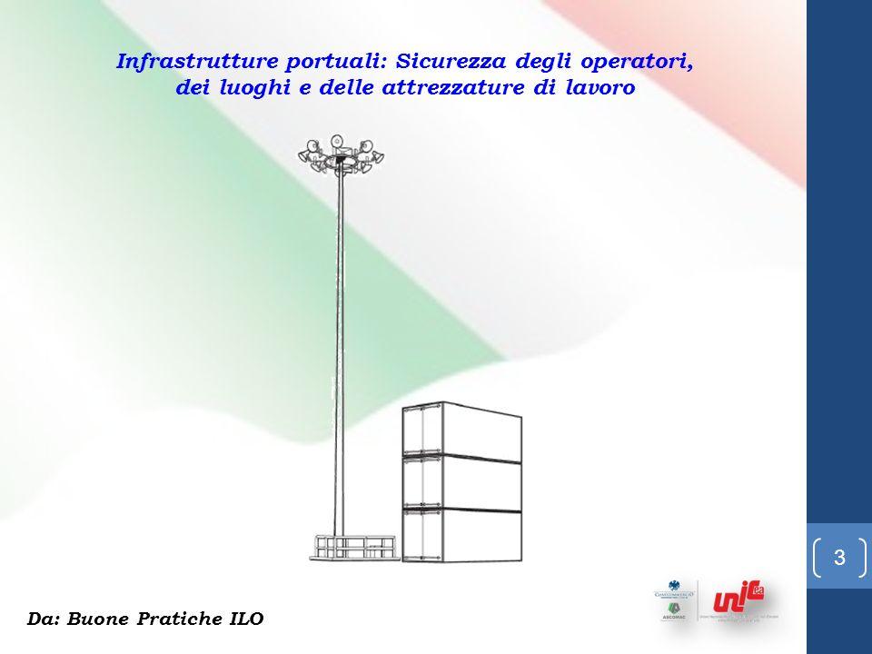 13 Infrastrutture portuali: Sicurezza degli operatori, dei luoghi e delle attrezzature di lavoro