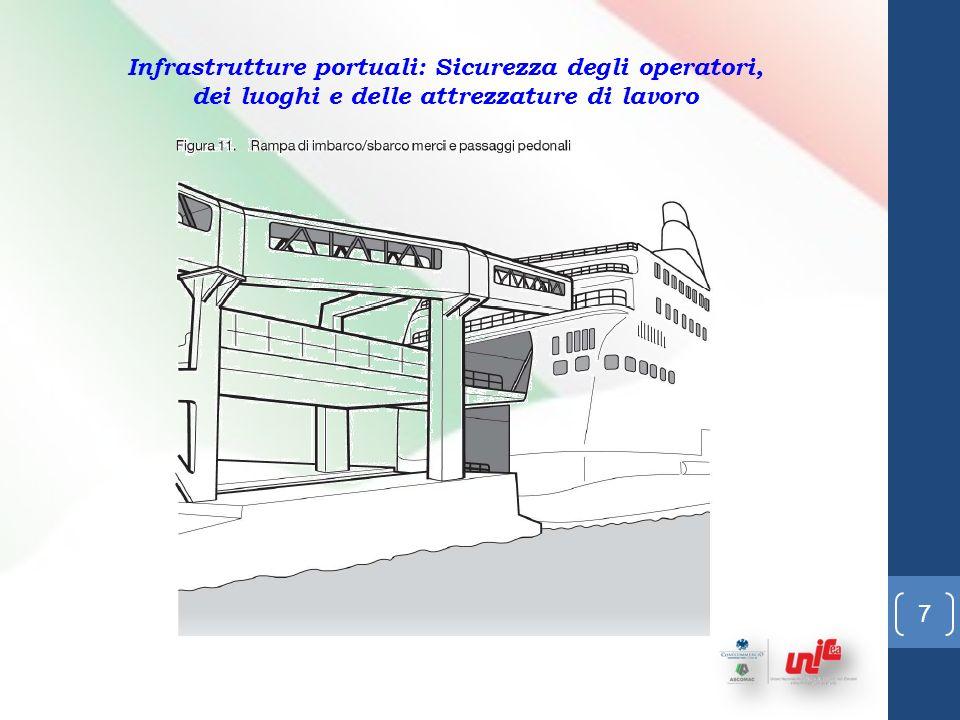 7 Infrastrutture portuali: Sicurezza degli operatori, dei luoghi e delle attrezzature di lavoro