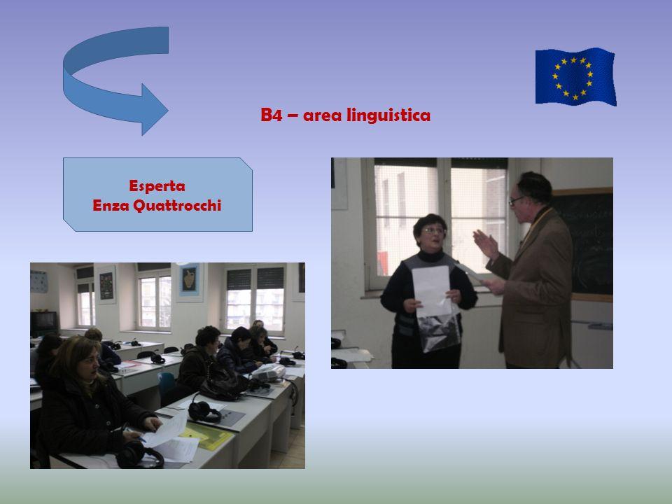 B4 – area linguistica Esperta Enza Quattrocchi