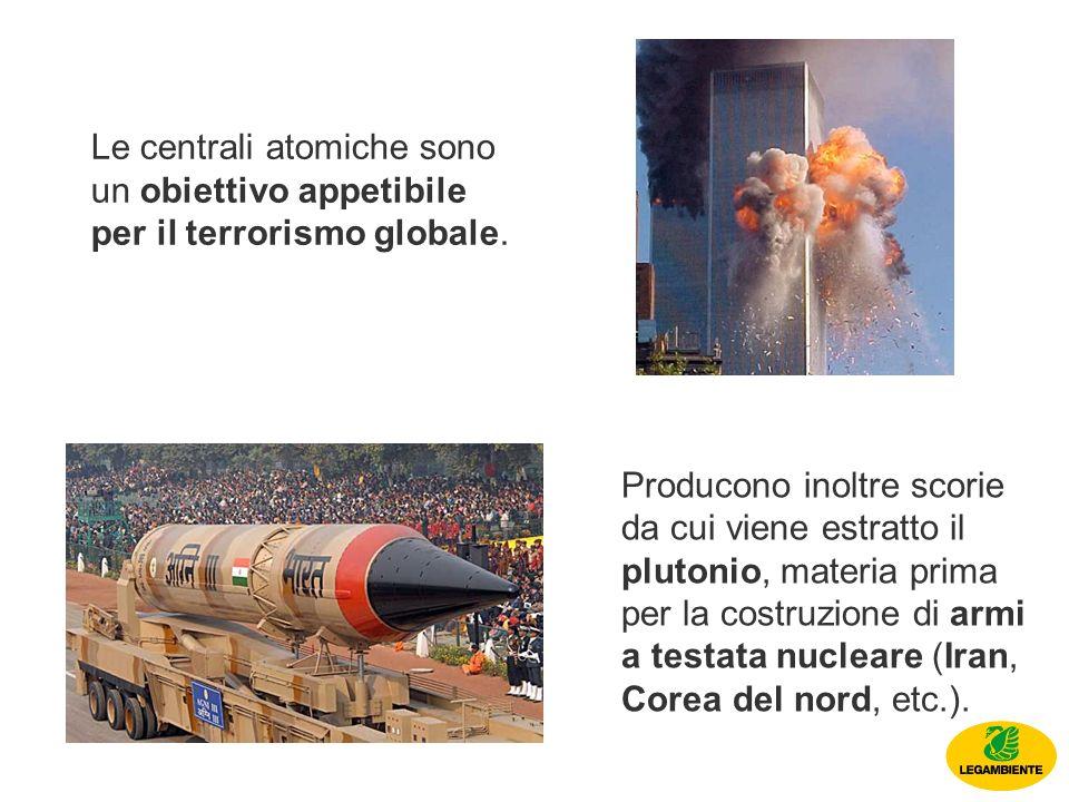 Le centrali atomiche sono un obiettivo appetibile per il terrorismo globale.