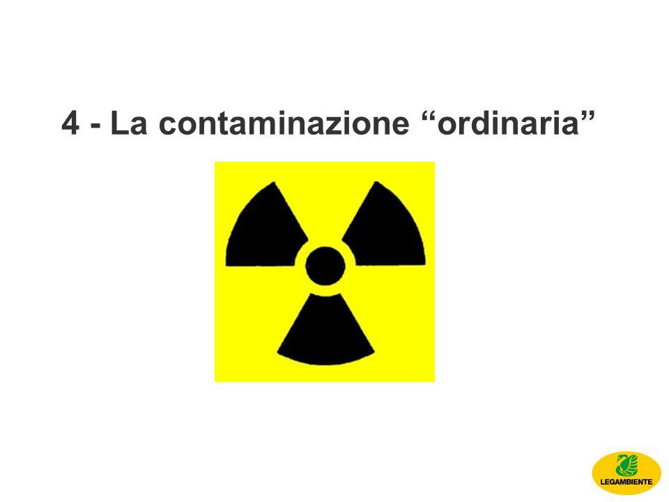 4 - La contaminazione ordinaria