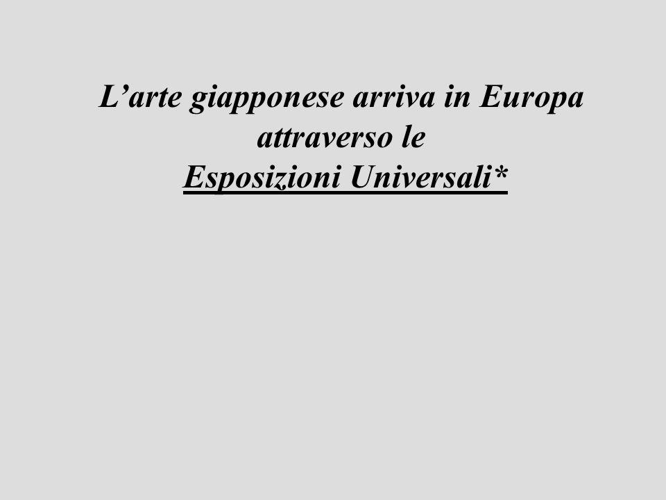 Larte giapponese arriva in Europa attraverso le Esposizioni Universali*