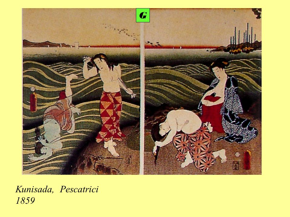 Kunisada, Pescatrici 1859 G