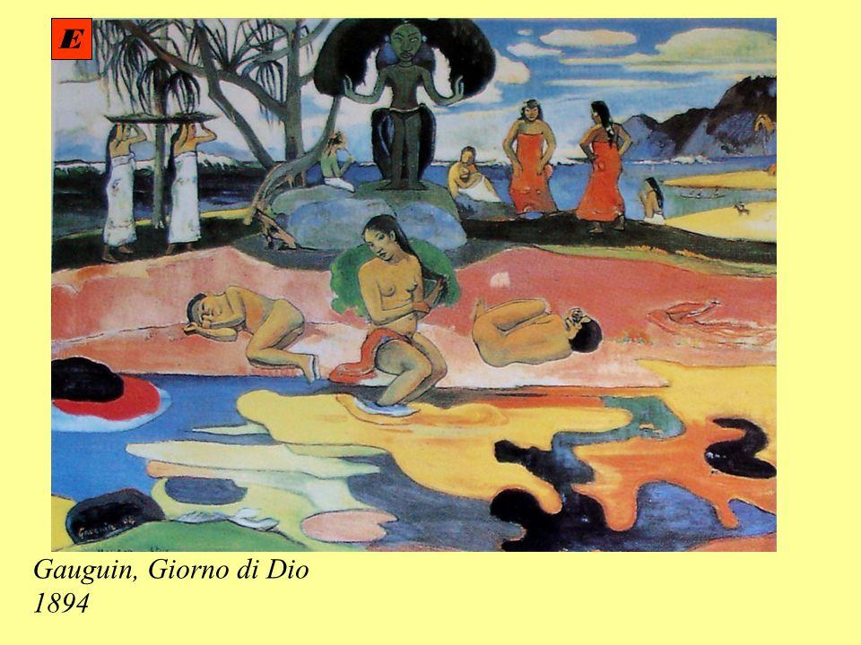 Gauguin, Giorno di Dio 1894 E