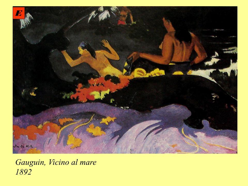 Gauguin, Vicino al mare 1892 E