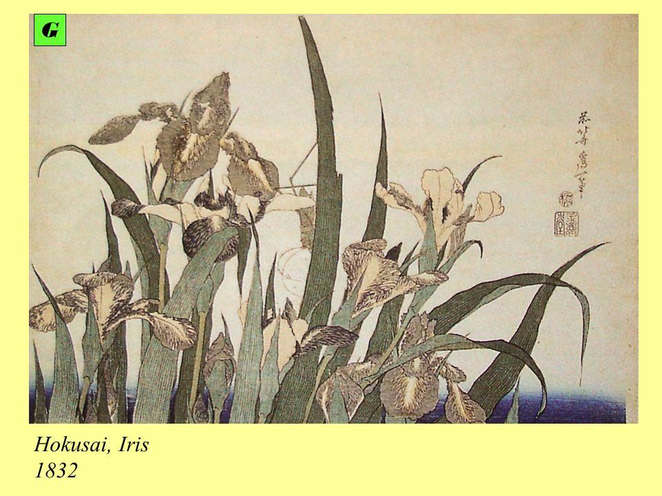 Hokusai, Iris 1832 G