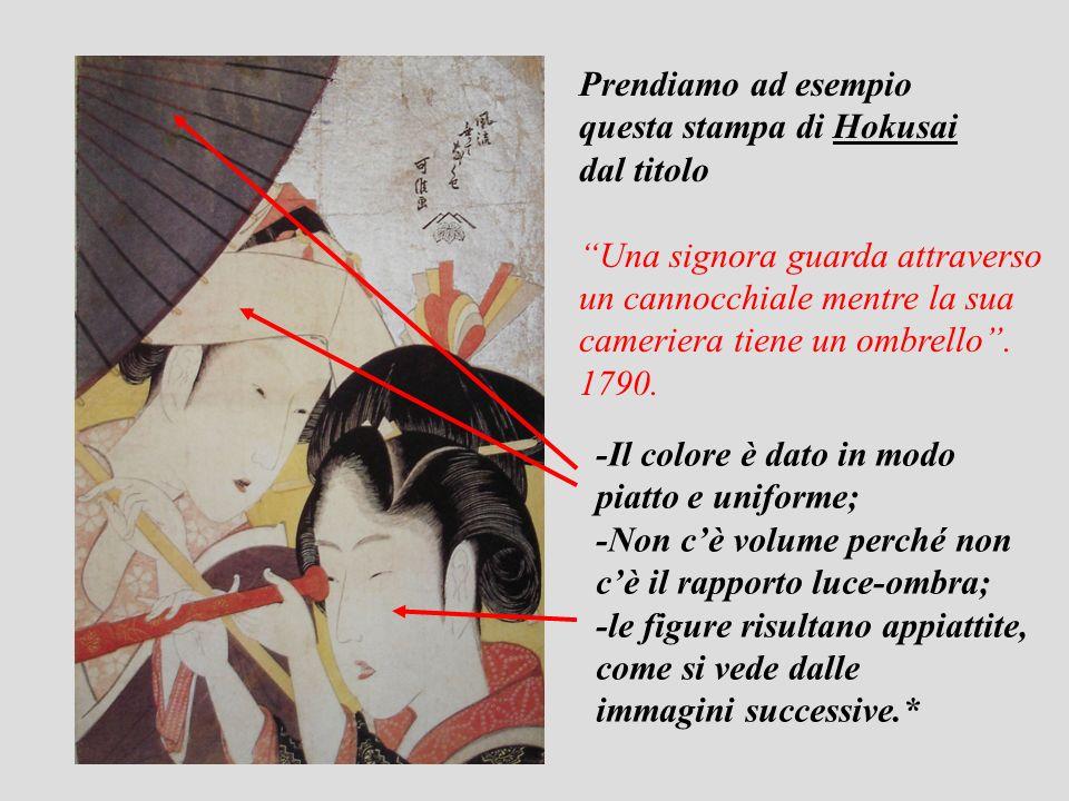 Hokusai Leonardo da Vinci I tratti del viso emergono dal passaggio dalla luce allombra (lo sfumato).