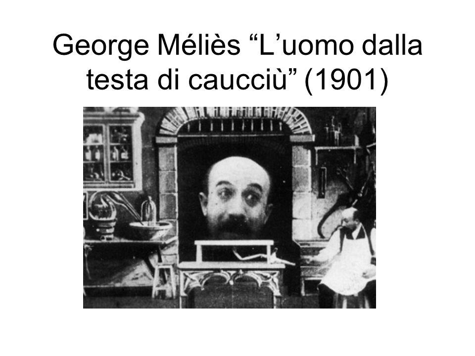 George Méliès Luomo dalla testa di caucciù (1901)