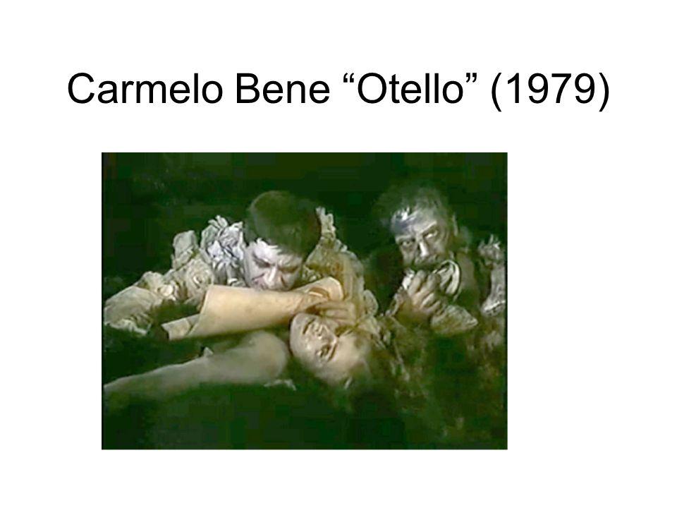 Carmelo Bene Otello (1979)