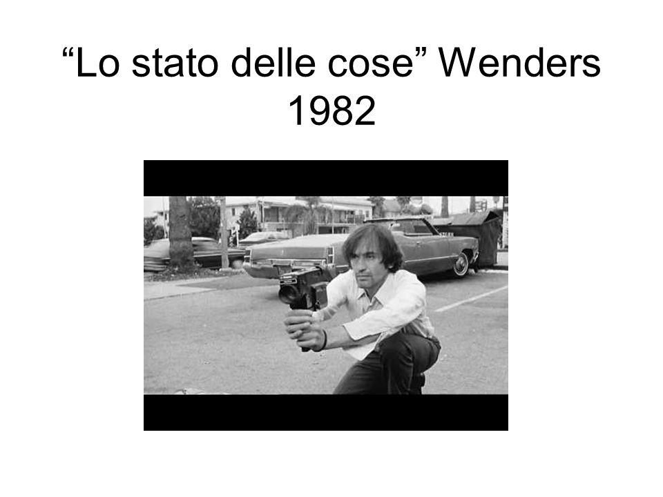 Lo stato delle cose Wenders 1982
