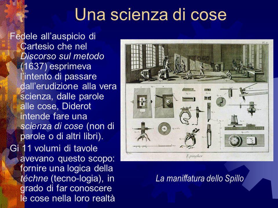 Una scienza di cose Fedele allauspicio di Cartesio che nel Discorso sul metodo (1637) esprimeva lintento di passare dallerudizione alla vera scienza,