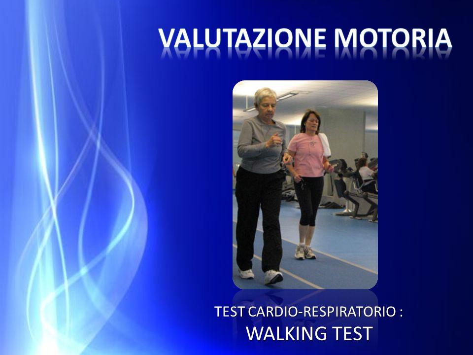 TEST CARDIO-RESPIRATORIO : WALKING TEST