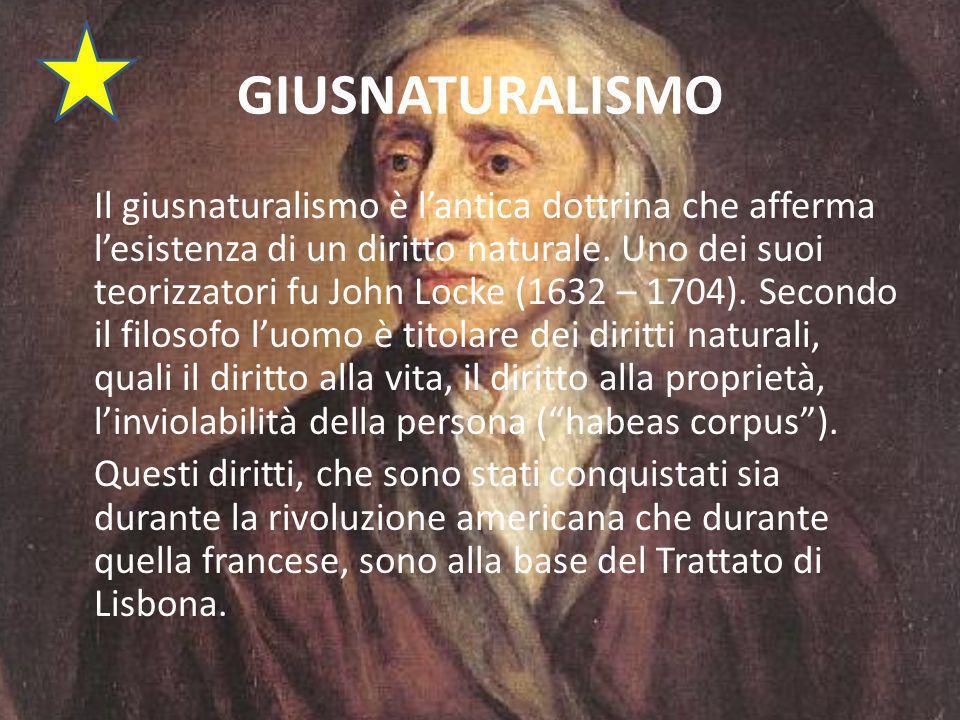 GIUSNATURALISMO Il giusnaturalismo è lantica dottrina che afferma lesistenza di un diritto naturale.