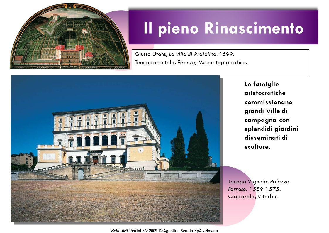Belle Arti Petrini © 2009 DeAgostini Scuola SpA - Novara Giusto Utens, La villa di Pratolino.
