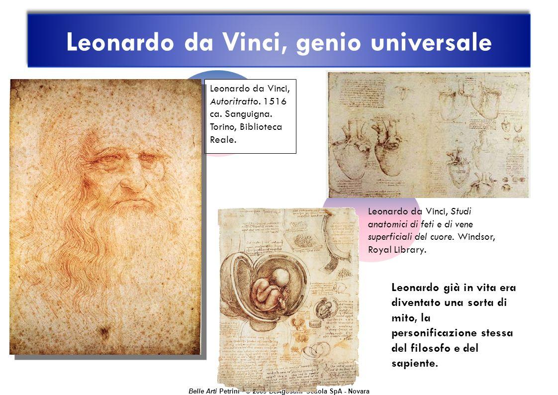 Belle Arti Petrini © 2009 DeAgostini Scuola SpA - Novara Leonardo da Vinci, Autoritratto.
