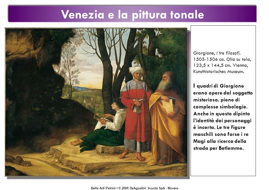 Belle Arti Petrini © 2009 DeAgostini Scuola SpA - Novara Giorgione, I tre filosofi.