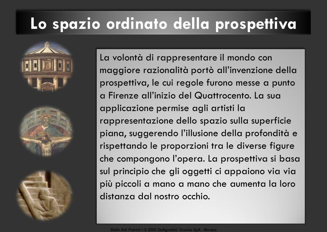 Belle Arti Petrini © 2009 DeAgostini Scuola SpA - Novara Michelangelo, genio irrequieto Michelangelo, Volta della Cappella Sistina.