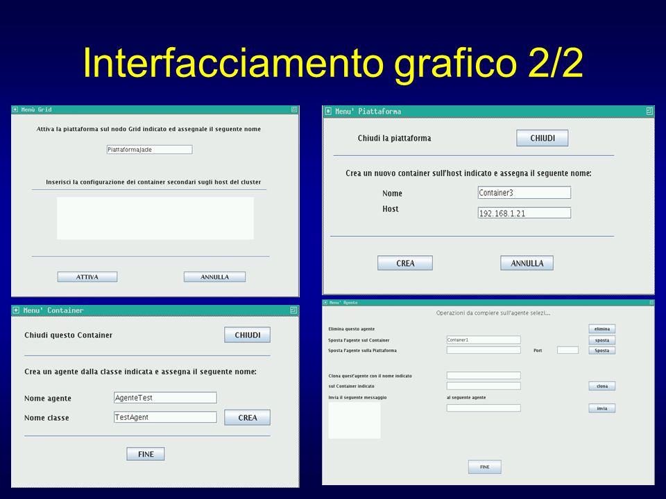 Interfacciamento grafico 2/2
