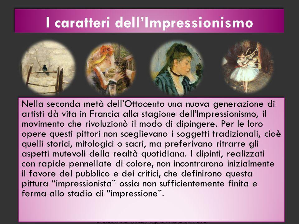 Belle Arti Petrini © 2009 DeAgostini Scuola SpA - Novara Come fotografie istantanee Edgar Degas, Lorchestra dellOpéra.