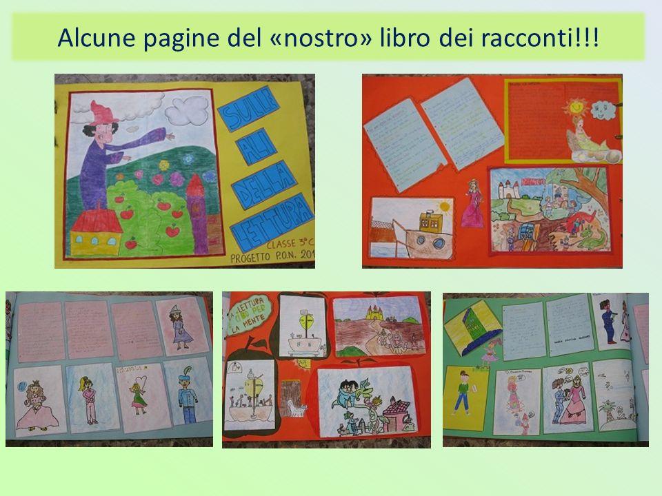 Alcune pagine del «nostro» libro dei racconti!!!