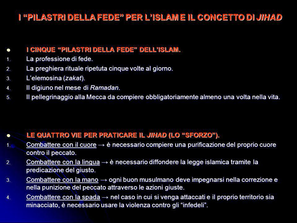 BISOGNI PSICHICI SODDISFATTI DAL FONDAMENTALISMO (De Luca, 2002) BISOGNO DI SICUREZZA.