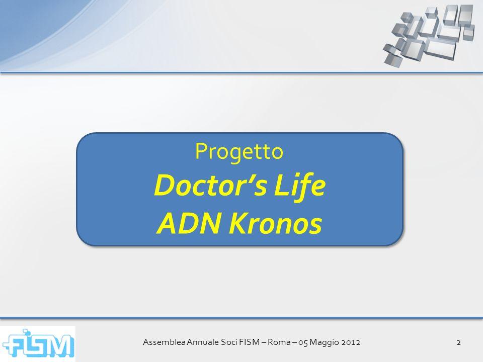 Assemblea Annuale Soci FISM – Roma – 05 Maggio 201213 Per la prima volta i medici hanno a disposizione un canale televisivo interamente dedicato alla loro professione.
