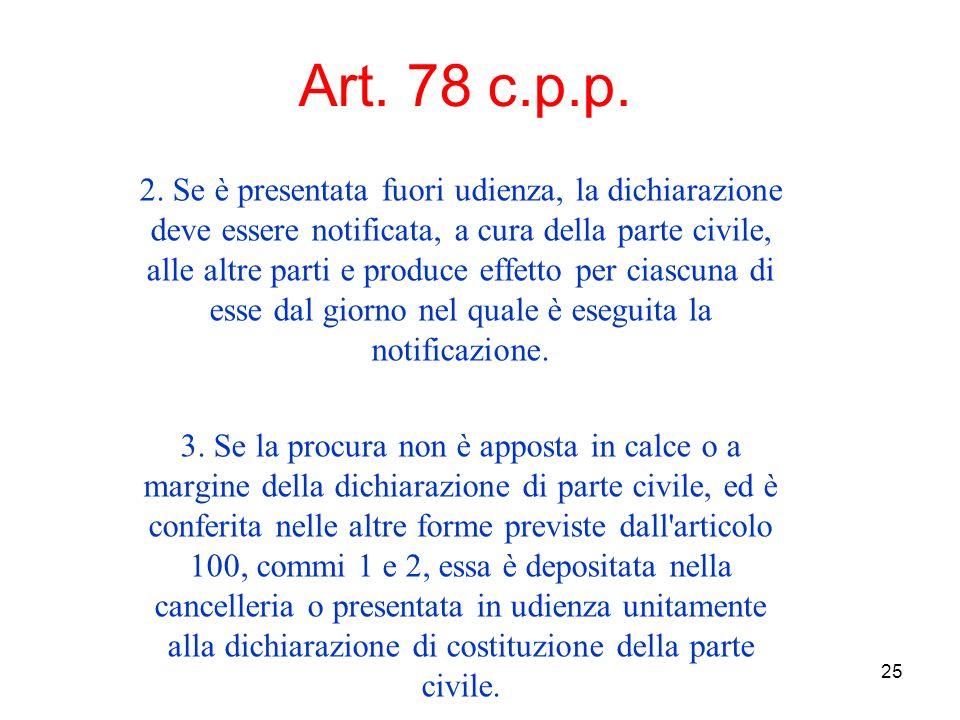 25 Art. 78 c.p.p. 2.