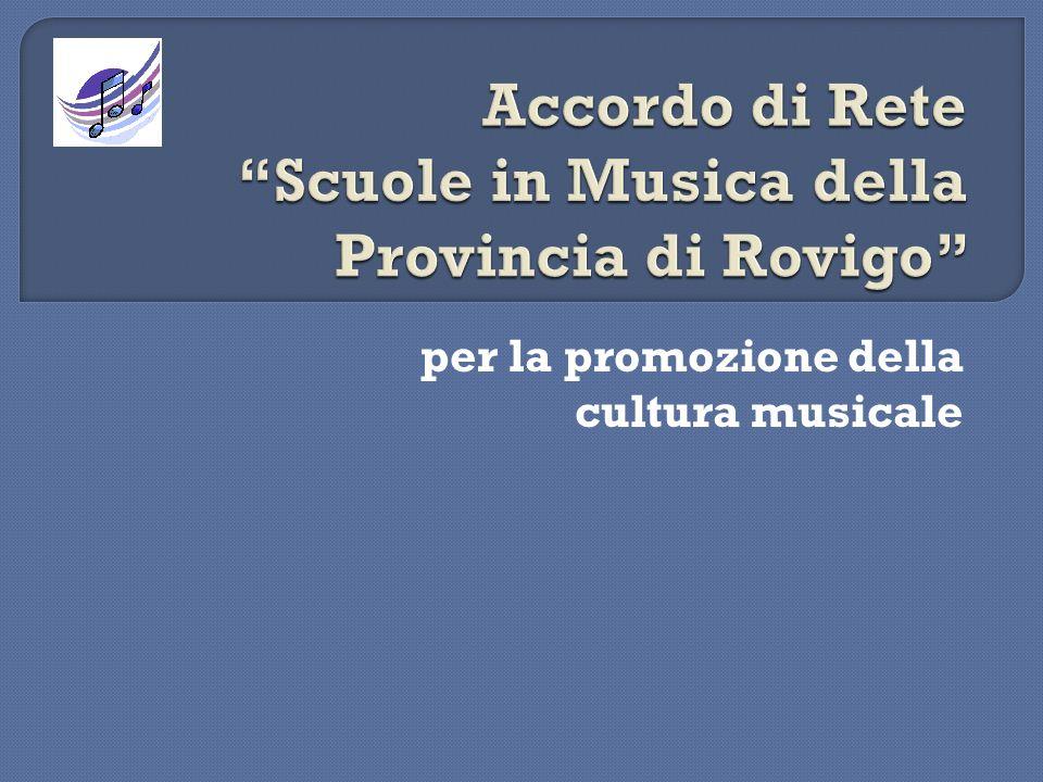 per la promozione della cultura musicale