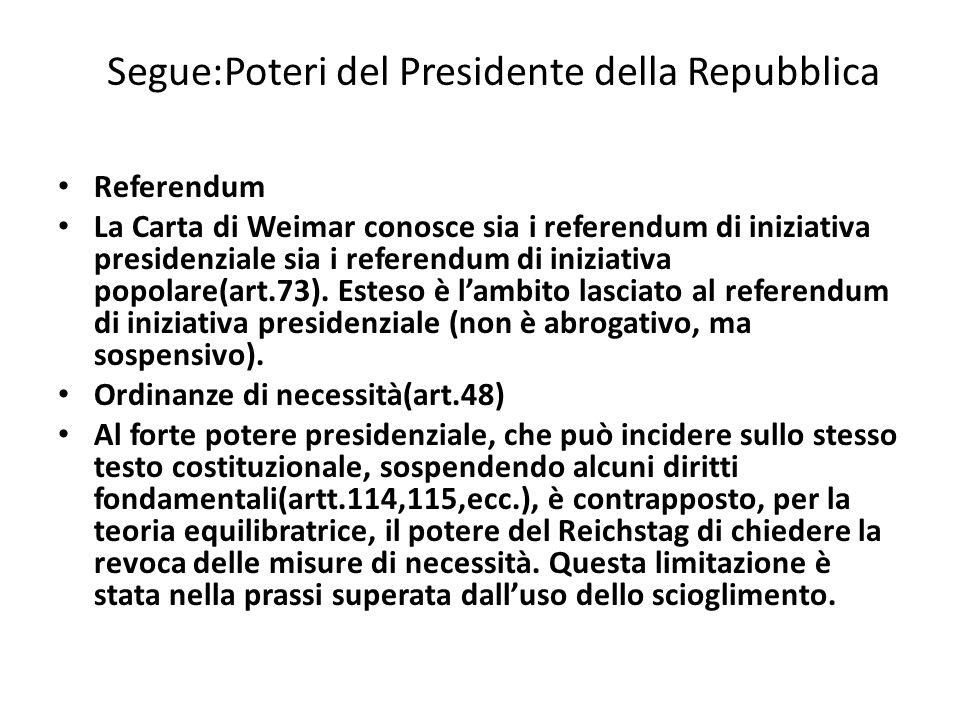 Reichstag:Capo II Il testo costituzionale è ricco di disposizioni relative alla materia elettorale.