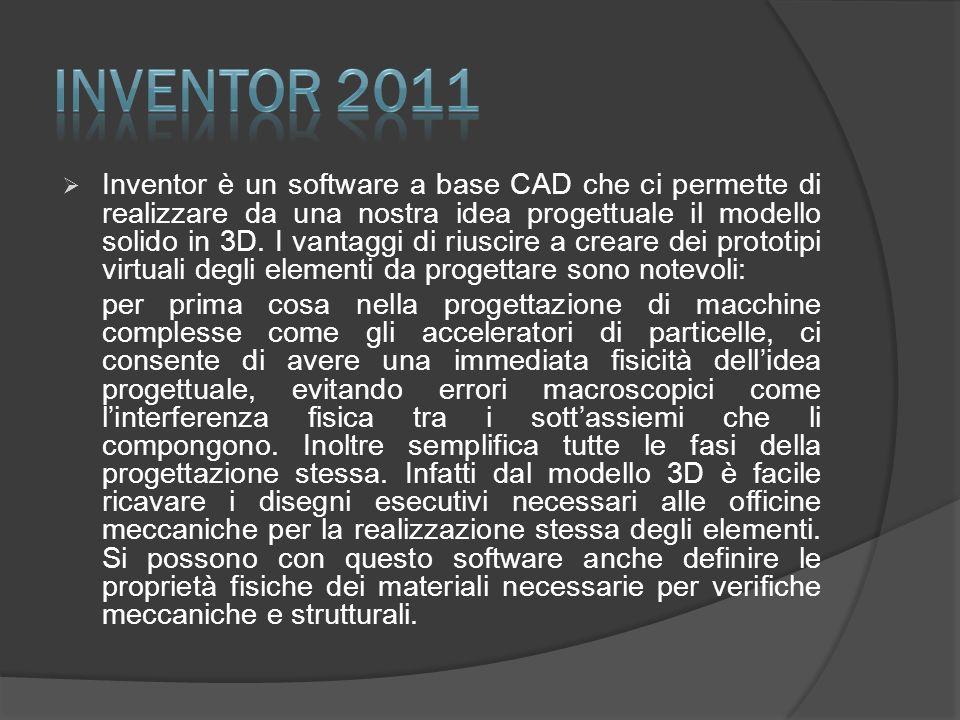 Corso pratico di modellazione solida -3D- Esercitazione con software Inventor v.11 (Autodesk) Progettazione meccanica di una parte della nuova linea P