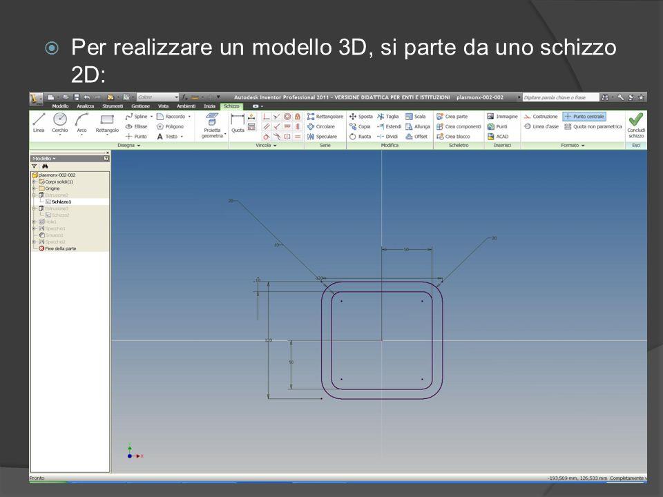 Inventor è un software a base CAD che ci permette di realizzare da una nostra idea progettuale il modello solido in 3D. I vantaggi di riuscire a crear