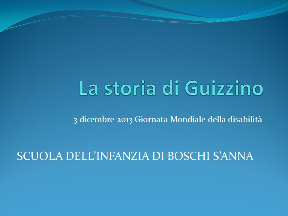 3 dicembre 2013 Giornata Mondiale della disabilità SCUOLA DELLINFANZIA DI BOSCHI SANNA
