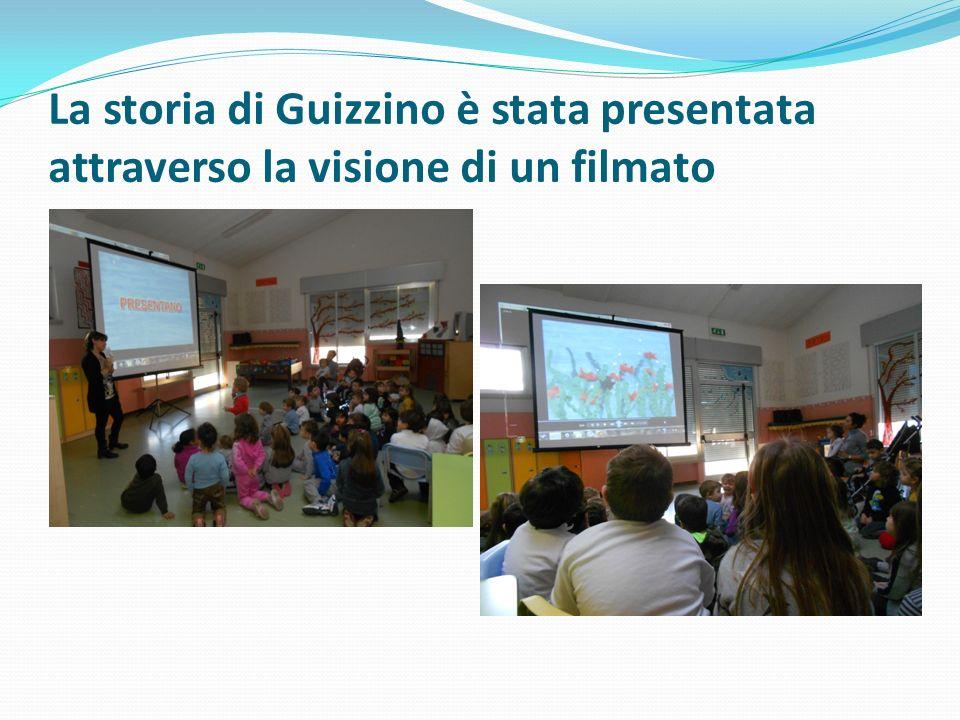 La storia di Guizzino è stata presentata attraverso la visione di un filmato