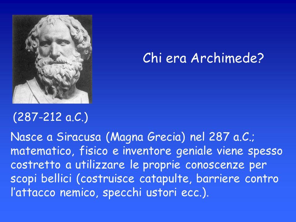 Chi era Archimede.