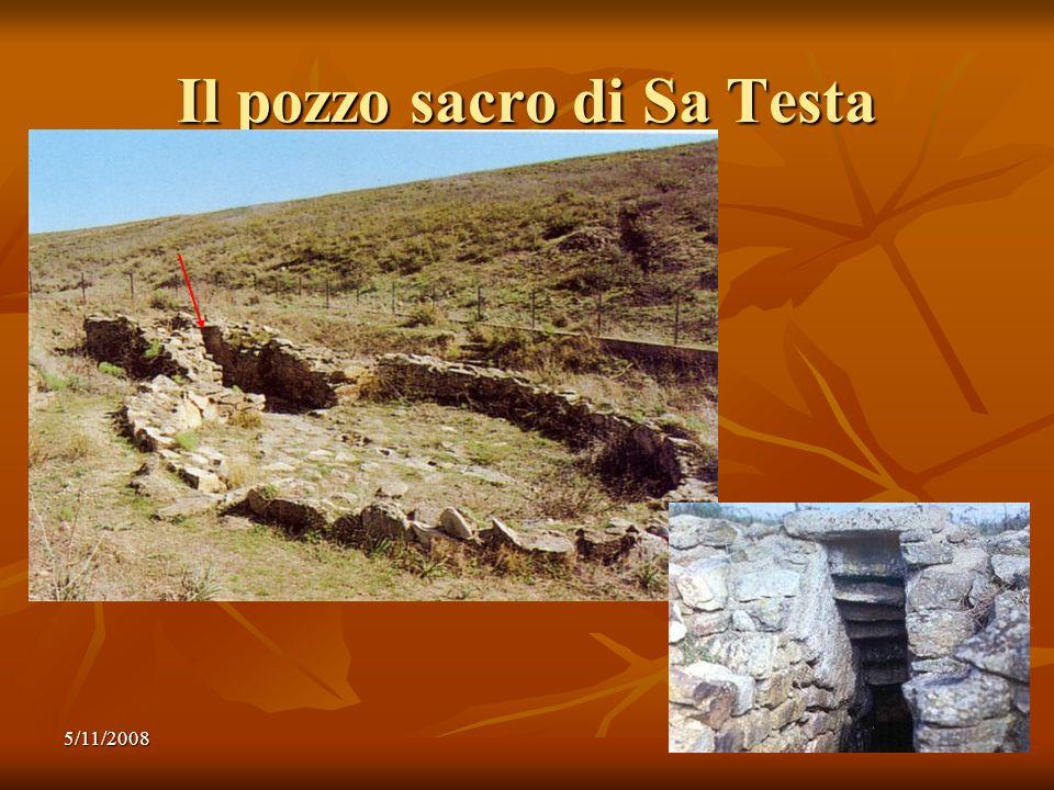 5/11/20089 Il pozzo sacro di Sa Testa