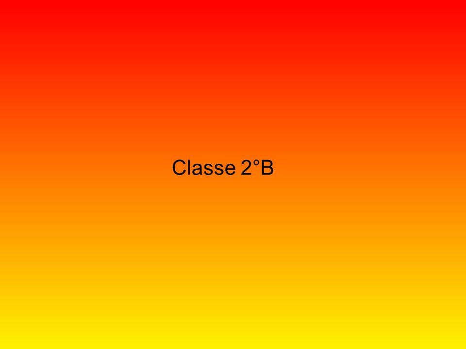 Classe 2°B