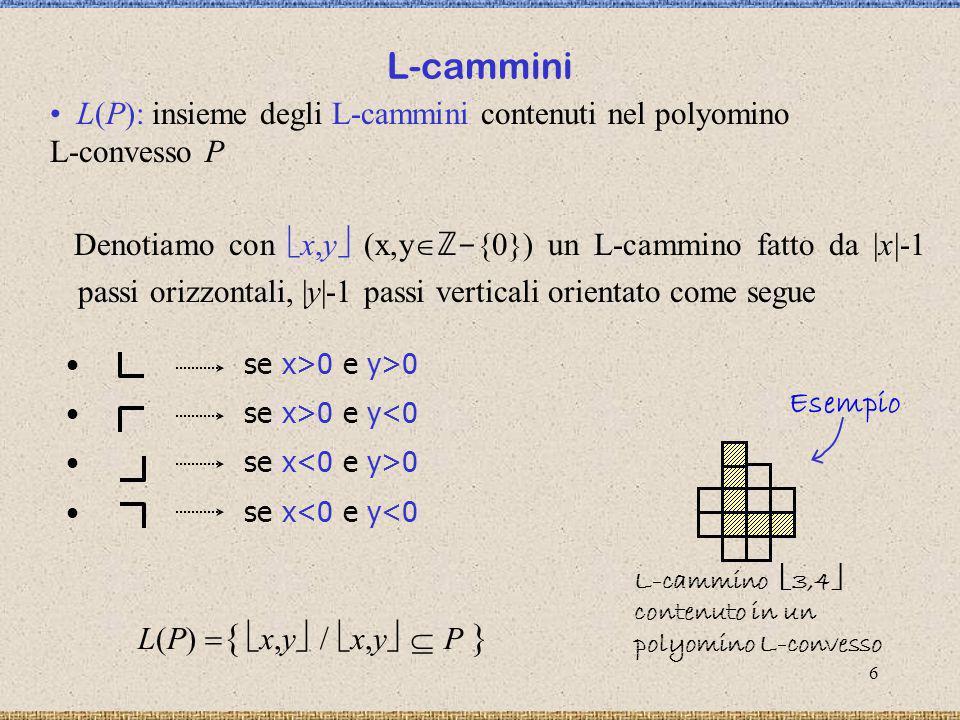 7 x,y è massimale (in L(P)) se x ,y L(P), x,y x ,y x x y y L max (P): insieme di tutti gli elementi massimali di L(P) (L(P), ) è un insieme parzialmente ordinato Osservazione: gli elementi di L max (P) possono avere più occorrenze in P.