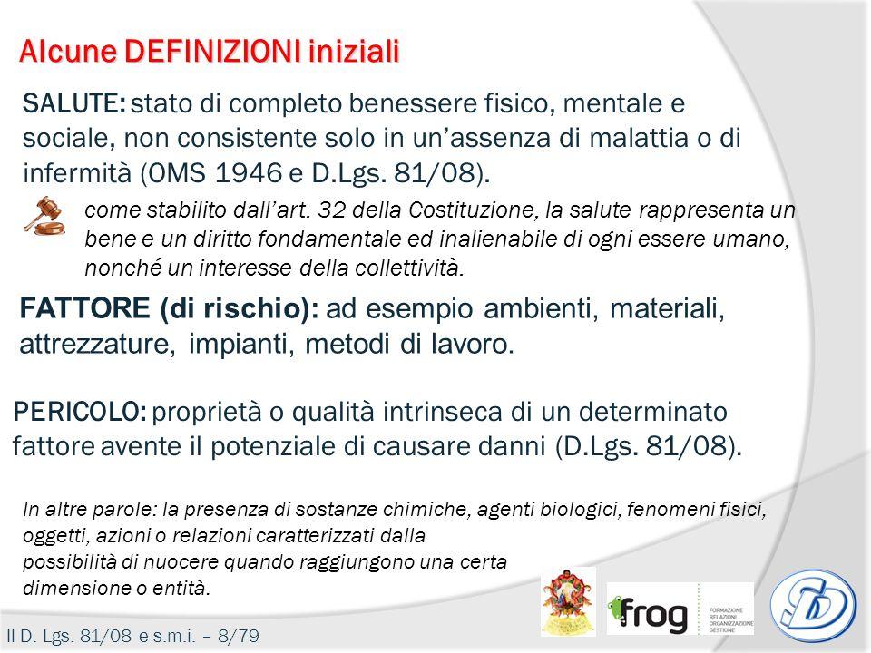 Classificazione aziende PRIMO SOCCORSO Il D.Lgs.81/08 e s.m.i.