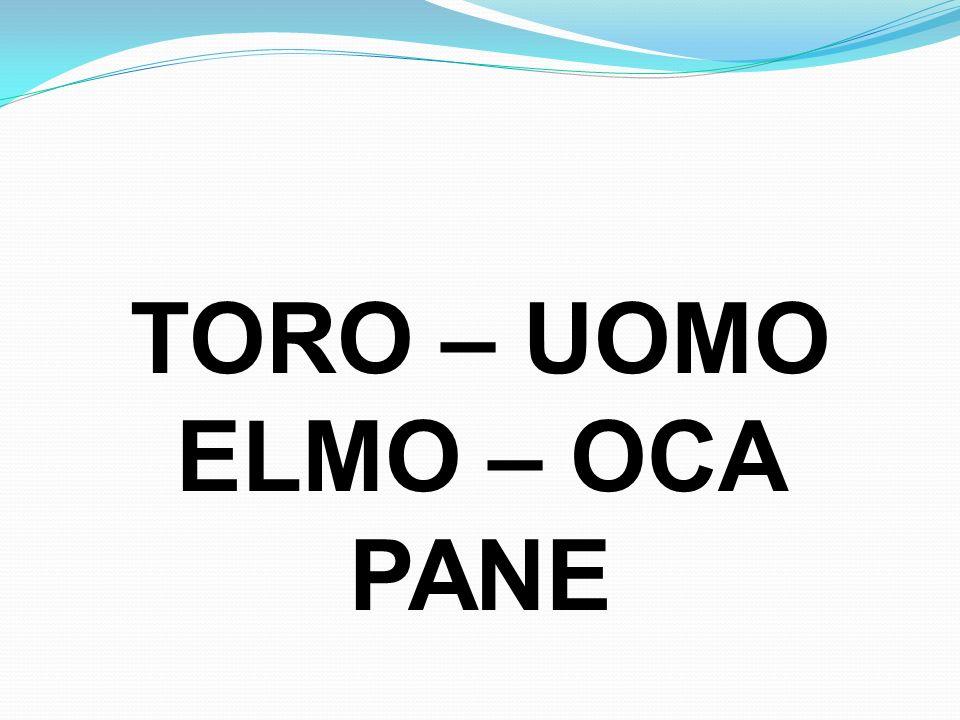 TORO – UOMO ELMO – OCA PANE